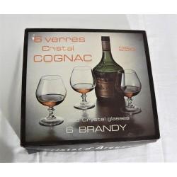 lot de 12 verres à cognac...