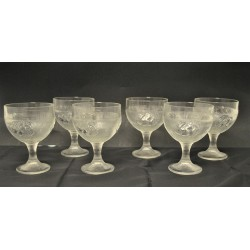 Lot de 6 coupes à glace